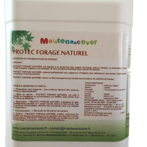 PROTECT FORAGE NATUREL Agent de protection Matériel de forage